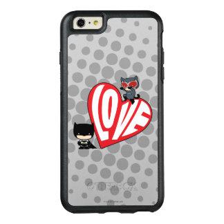 Chibi Catwoman Pounce on Batman OtterBox iPhone 6/6s Plus Case