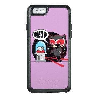 Chibi Catwoman Stealing A Diamond OtterBox iPhone 6/6s Case