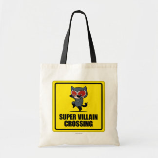 Chibi Catwoman Super Villain Crossing Sign