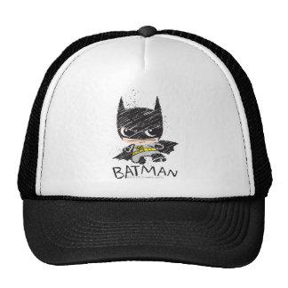 Chibi Classic Batman Sketch Trucker Hat