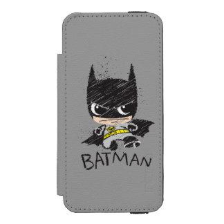 Chibi Classic Batman Sketch Incipio Watson™ iPhone 5 Wallet Case