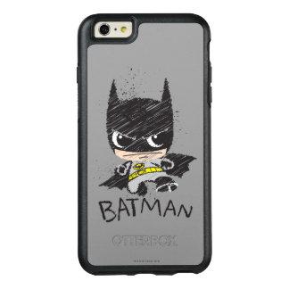 Chibi Classic Batman Sketch OtterBox iPhone 6/6s Plus Case