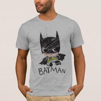 Chibi Classic Batman Sketch T-Shirt