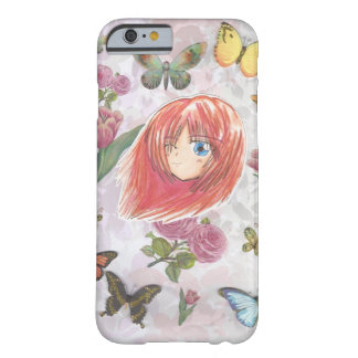 Chibi Collage Spring Flowers Harumi  iPhone 6 Barely There iPhone 6 Case
