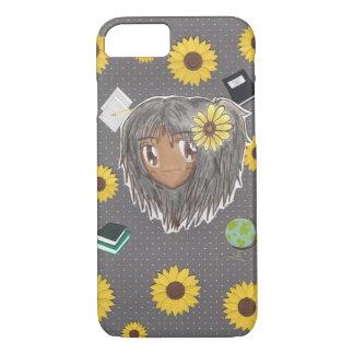 Chibi Colleg/Background Hinata iPhone 7 iPhone 7 Case