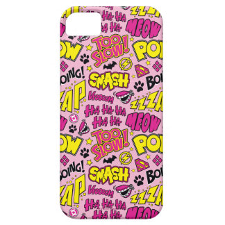 Chibi Comic Phrases and Logos Pattern iPhone 5 Cover