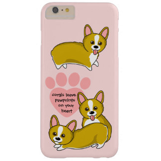 Chibi Corgi Love Barely There iPhone 6 Plus Case