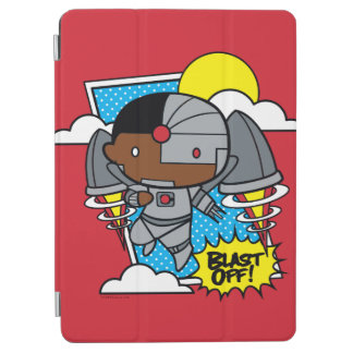 Chibi Cyborg Blast Off! iPad Air Cover