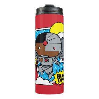 Chibi Cyborg Blast Off! Thermal Tumbler