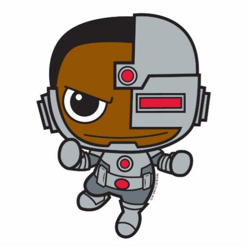 Chibi Cyborg Cut Out Zazzle
