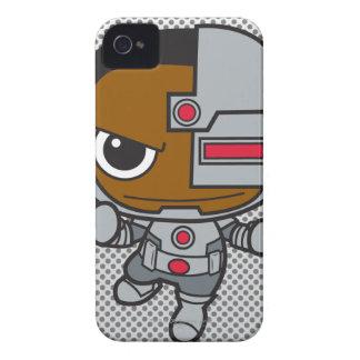 Chibi Cyborg iPhone 4 Case-Mate Cases