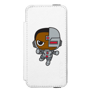 Chibi Cyborg Incipio Watson™ iPhone 5 Wallet Case