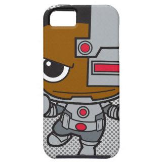 Chibi Cyborg Tough iPhone 5 Case