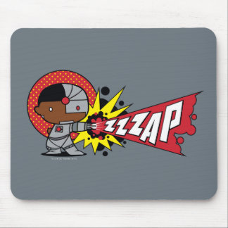 Chibi Cyborg's Cybernetic Cannon Mouse Pad