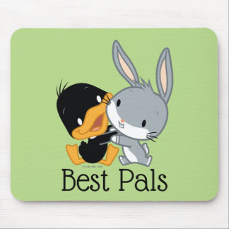 Chibi DAFFY DUCK™ & BUGS BUNNY™ Mouse Pad