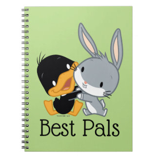 Chibi DAFFY DUCK™ & BUGS BUNNY™ Notebook