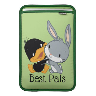 Chibi DAFFY DUCK™ & BUGS BUNNY™ Sleeve For MacBook Air