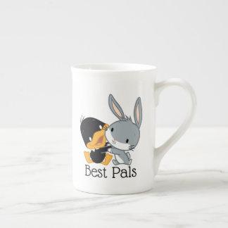 Chibi DAFFY DUCK™ & BUGS BUNNY™ Tea Cup