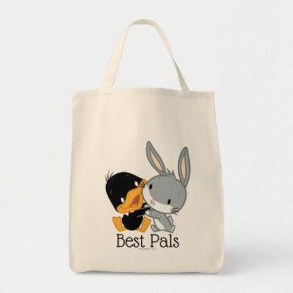 Chibi DAFFY DUCK™ & BUGS BUNNY™ Tote Bag
