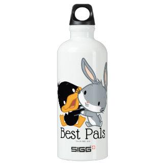 Chibi DAFFY DUCK™ & BUGS BUNNY™ Water Bottle