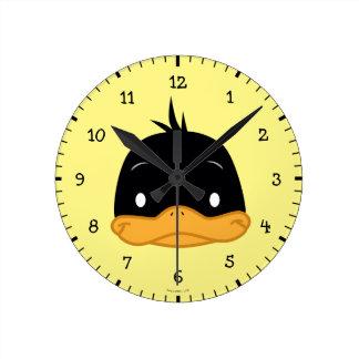 Chibi DAFFY DUCK™ Round Clock