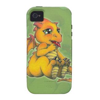 Chibi Dragon Case-Mate iPhone 4 Cases
