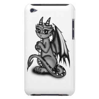Chibi Dragon grey Barely There iPod Case