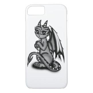 Chibi Dragon grey iPhone 7 Case
