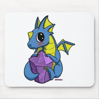 chibi dragon mouse pad