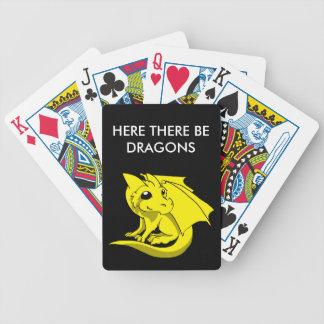 Chibi Dragon Poker Deck