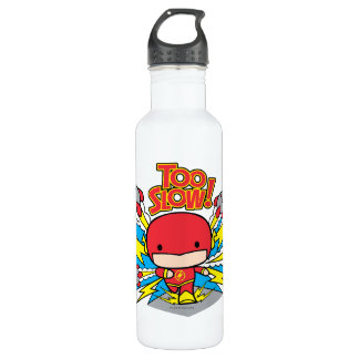 Chibi Flash Outrunning Rockets 710 Ml Water Bottle