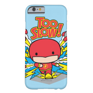 Chibi Flash Outrunning Rockets Barely There iPhone 6 Case