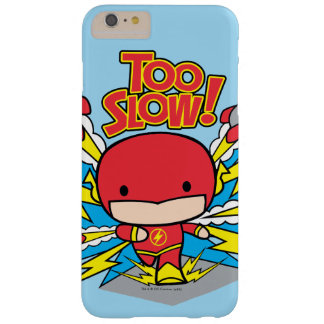 Chibi Flash Outrunning Rockets Barely There iPhone 6 Plus Case