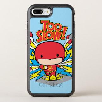 Chibi Flash Outrunning Rockets OtterBox Symmetry iPhone 8 Plus/7 Plus Case