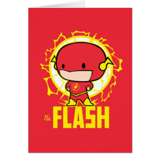 Chibi Flash With Electricity Card