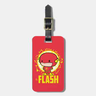 Chibi Flash With Electricity Luggage Tag