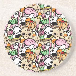 Chibi Food Coaster
