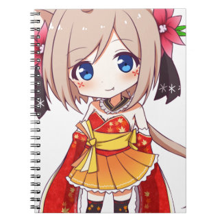 Chibi Fox Girl Notebook