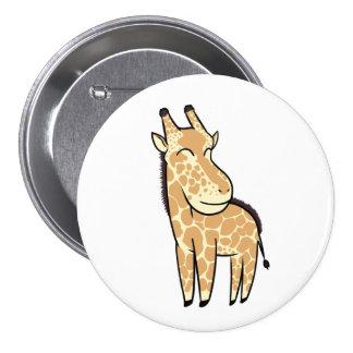 Chibi Giraffe 7.5 Cm Round Badge