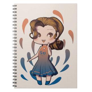 Chibi Girl Notebook