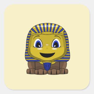 Chibi Golden Sphinx Stickers