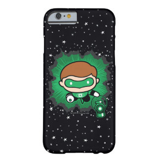 Chibi Green Lantern Flying Through Space Barely There iPhone 6 Case