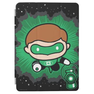 Chibi Green Lantern Flying Through Space iPad Air Cover