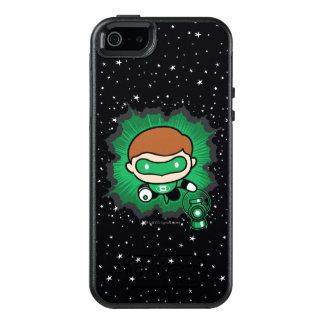 Chibi Green Lantern Flying Through Space OtterBox iPhone 5/5s/SE Case