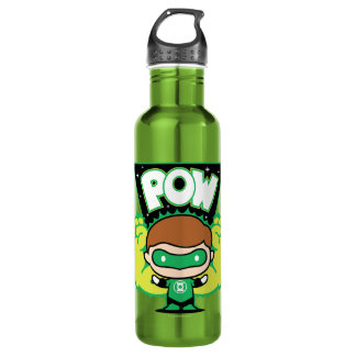 Chibi Green Lantern Forming Giant Fists 710 Ml Water Bottle