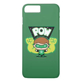 Chibi Green Lantern Forming Giant Fists iPhone 8 Plus/7 Plus Case