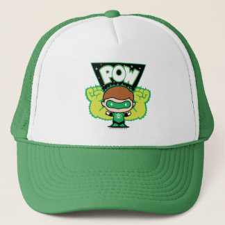 Chibi Green Lantern Forming Giant Fists Trucker Hat