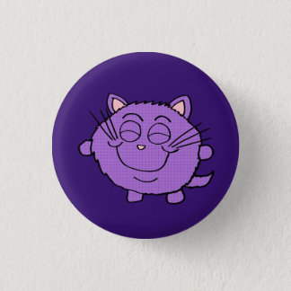 Chibi Happy Cat button