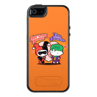 Chibi Harley Quinn & Chibi Joker Hearts OtterBox iPhone 5/5s/SE Case