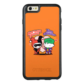 Chibi Harley Quinn & Chibi Joker Hearts OtterBox iPhone 6/6s Plus Case